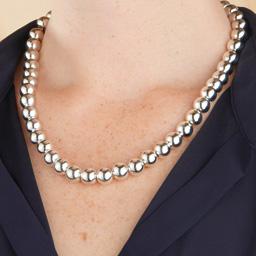 Collier perles 10mm