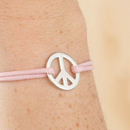 "Bracelet "" Peace and Love """